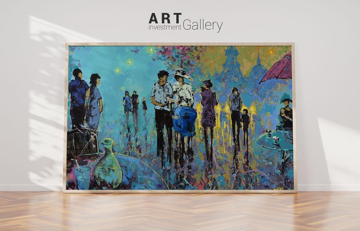 tvorba loga pro galerii