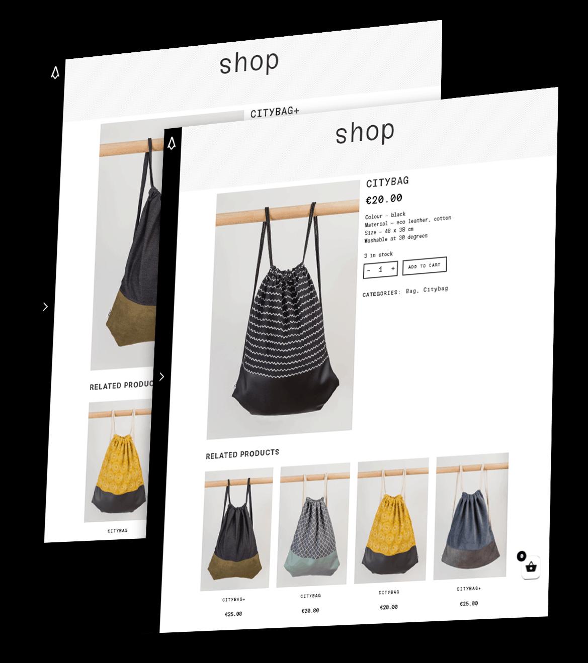 Tvorba e-shopu zobrazení produktu