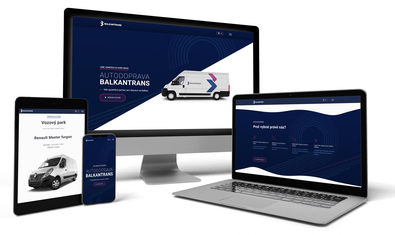 Redesign webových stránek