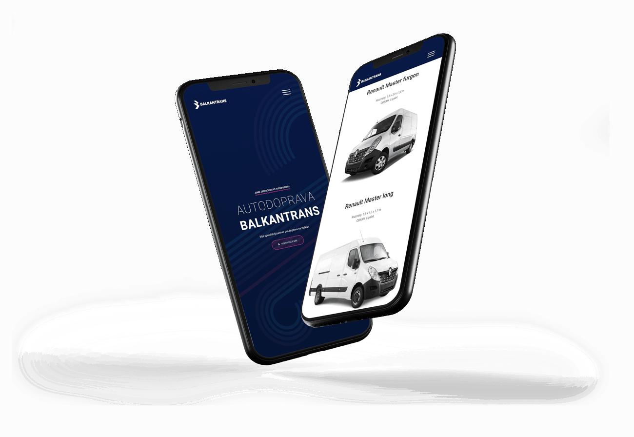 Redesign mobilní verze